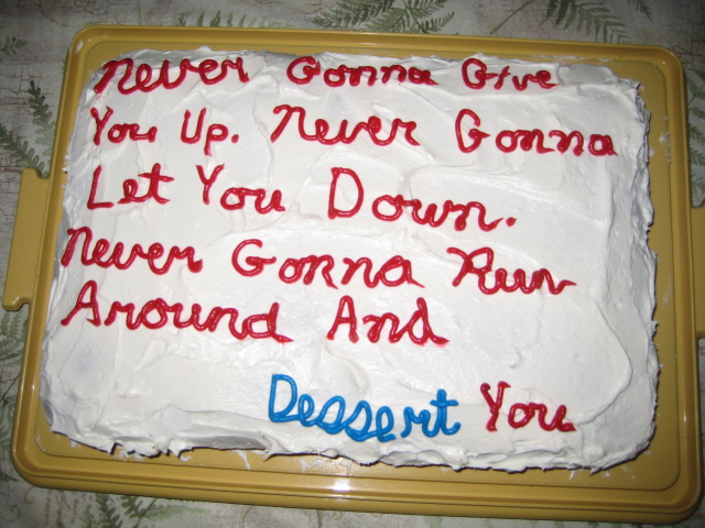Absurdly Inappropriate Cake Inscriptions Someecards Congratulations